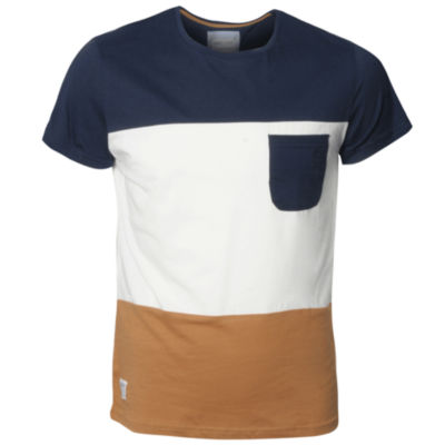 Nanny State Colour Block T Shirt