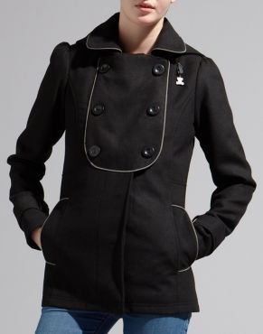 Black Coat - Bank Fashion