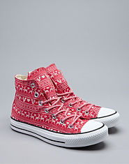 Converse All Star Hi Fairisle