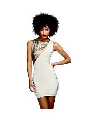 House Of Dereon Sequin Embellished Dress