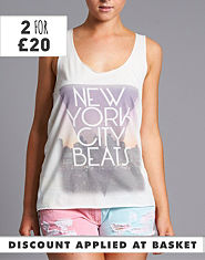 BLONDE & BLONDE NY City Beats Vest