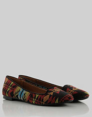Bank Aztec Slipper Pumps