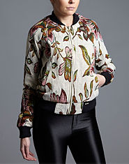 Red or Dead Daemon Tapestry Bomber Jacket