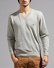 French Connection Alderley Plain V Neck Jumper