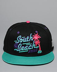 CAYLER AND SONS South Beach Swag Snapback Cap