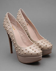 Kitsch Couture Sally Studded Heels
