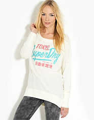 Superdry Ticket Burnout Top