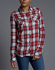 BLONDE & BLONDE Western Checked Shirt