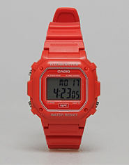 Casio Matte Finish Retro Watch