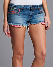 Superdry Low Rise Denim Hotpants