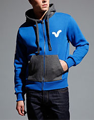 Voi Jeans Wintery Colour Block Hoody