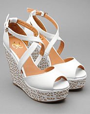 Kitsch Couture Lucie Wedges