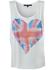 BLONDE & BLONDE British Heart Vest