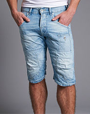 Jack & Jones Arvi Long Denim Shorts