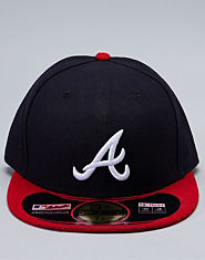 New Era 59FIFTY Braves Baseball Cap