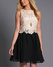 Little Mistress Lace 2 in 1 Dress