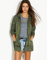 Lipsy Lightweight Parka Coat