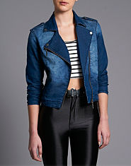 Lipsy Biker Denim Jacket