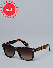 Outcast Retro Tortoise Shell Sunglasses