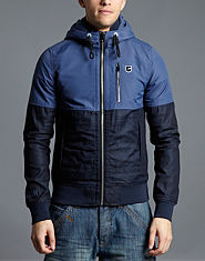 G-STAR Denim Trim Track Jacket