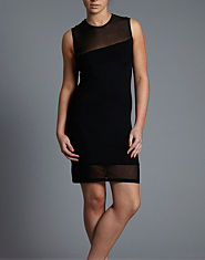Glamorous Mesh Little Black Dress