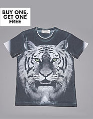 Outcast Tiger T-Shirt
