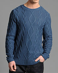 Nanny State Doherty Cable Knit Jumper