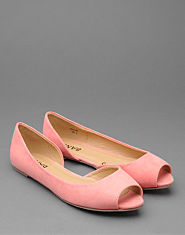Bank Penny Peep Toe Pumps