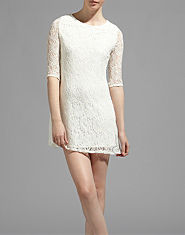 Glamorous Lace Swing Dress
