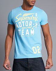 Superdry Black Label Red Star T-Shirt