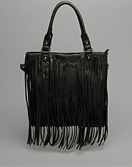 Bank Tassel Shopper Bag