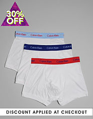 Calvin Klein Three Pack Trunks
