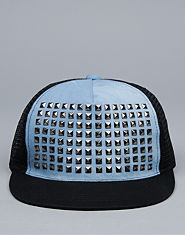 Bank Studded Snapback Cap