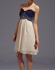 Little Mistress Serena Two in One Embellished Prom Dress
