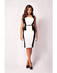 Jessica Wright Leah Peplum Dress