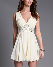 Lipsy Embellished Waist Dress