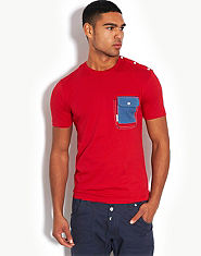 Voi Jeans Maxed Pocket T-Shirt