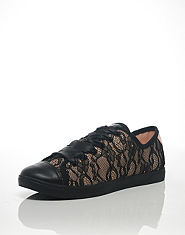 DKNY Lace Over Pumps