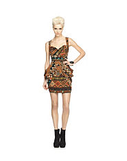 House Of Dereon Tribal Tulip Dress
