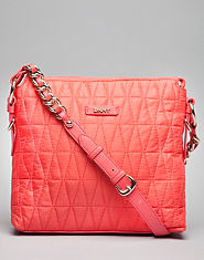DKNY Quilted Cross Body Bag