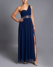 Little Mistress One Shoulder Maxi Dress