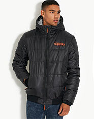Superdry Hooded Sports Puffa Jacket