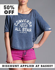 Converse Butterfly Sweat T-Shirt