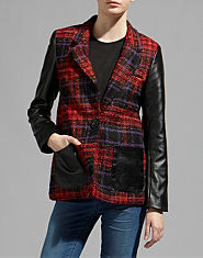 Red or Dead Seagran Boucle Jacket