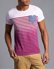 Nanny State Fader Striped T-Shirt