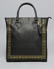 Bank Studded Tote