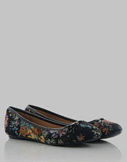 Bank Tapestry Ballet Pumps