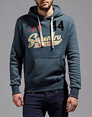 Superdry Rocket Flock Hoody