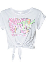 Outcast MTV Fluro Tie T-Shirt