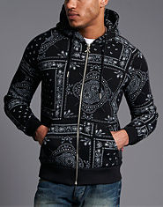 Criminal Damage Bandana Hoody